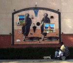 A cool mural on Holly