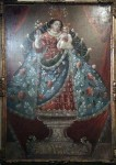A nice painting in the American Spanish religious style