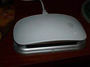 Magic Mouse on charging station