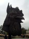 Ai Weiwei's rooster head