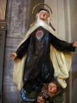 A statue of St. Cecilia, important to Bologna