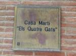Sign for Casa Marti