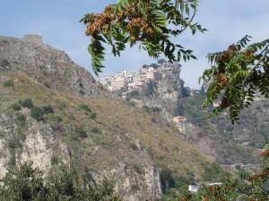 Castelmola from Taormina