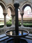 The fountain at the Cloisters