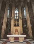 The main alter in the Cathedral