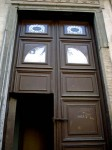 The doors of the Oratorio