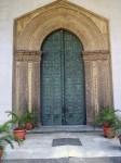 The doors of the Duomo