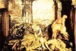 """""""La Peste""""(The Plague) by Giulio Gaetano Zambo, 17th century"""