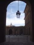 A photo inside the Palazzo Pitti