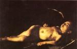 """Sleeping Cupid"" by Carravagio , 1610"