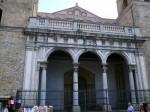 Center view of the facade of the Duomo of Monreale