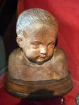 A bust of a baby