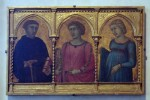 """Saints Caterina d' Alessandria, Margherita and Benedetto"" by Pietro Lorenzetti"