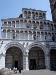 The front facade of the Duomo