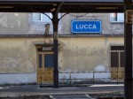 Just to be sure that you're getting off the train in Lucca....