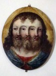 A painting of the trinity - we thought this was just amazing