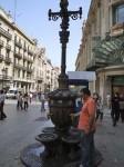 Old water spigots on Avenue del Portal de l'Angel