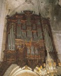 Pipes for the pipe organ