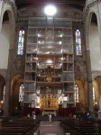 Restoration of the altar - this won't complete til 2010