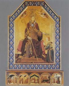 San Ludovico di Tolosa by Simone Martini, 1317