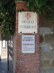 Sign for Museo Stibbert