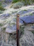 The only trail marker we saw on any hike