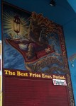 Another cool mural in Venice Beach, hawking fries