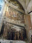 A frescoed wall