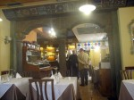 Inside the Osteria