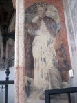 A fresco in the museum