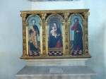 A triptych from the museum