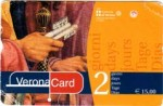 The front of a Verona Card