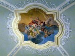 Another detail of the ceiling over the altar