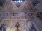 A ceiling of the chapel - I had to reach way in over the railing to get this shot