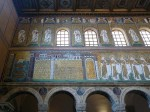 Mosaics on the left side, facing the altar, furthest from altar (1)