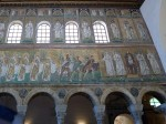 Mosaics on the left side, facing the altar, nearest to altar (4)
