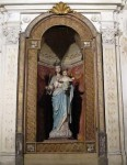 Statue of the Madonna and Child