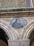 Detail of nun from side wall