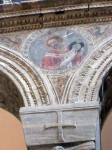 Detail of saint from side wall
