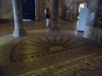 One of the more interesting floor mosaics