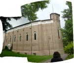 A side panorama of the cappella