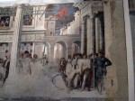 Another fresco fragment, possibly Mantegna as well