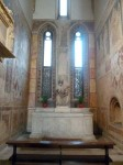 The left hand chapel