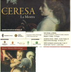 Back of the ticket for the Ceresa exhibit