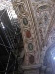 A ceiling detail