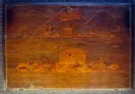 An example of beautiful marquetry