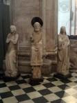 Statues around a column
