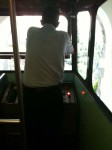 The driver of the funicular