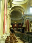 A view to the altar