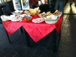 That spread is bar food in Ferrara apparently